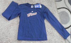Cleveland Cavalier girls navy adidas jersey t shirt size xl