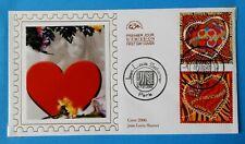 Za114* Enveloppe 1er jour FDC 2006 n°3861 & 3862 Jean Louis Saint Valentin Cœur
