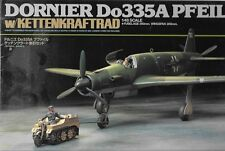 Tamiya Dornier Do335A Pfeil - w/Kettenkraftrad Model Kit German Airplane TA89598