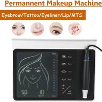 Multifunctional Permanent Makeup Machine Kit with Microblading Pen Lip Tattoo LJ