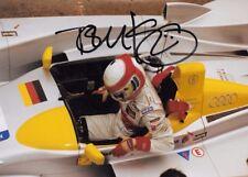 Tom Kristensen SIGNED 9x6     Audi R8   Donington Park 2003