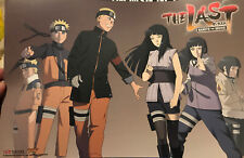 THE LAST NARUTO THE MOVIE 2014 NYCC 11x17 EXCLUSIVE DOUBLE SIDED POSTER-VIZMEDIA