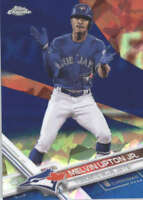 MELVIN UPTON JR. 2017 TOPPS CHROME SAPPHIRE EDITION #623 ONLY 250 MADE