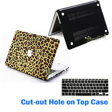 "Rubberized Laptop Hard Case+Keyboard Cover for Macbook Pro13""15""Retina Air 11""13"
