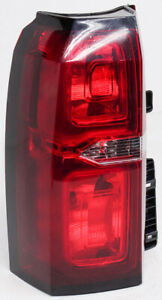 OEM Chevrolet Suburban, Tahoe Left Driver Side Halogen Tail Lamp Lens Chip