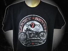 Bobber T-Shirt mit einer Harley Davidson XS-5XL Old School Übergrösse Flathead