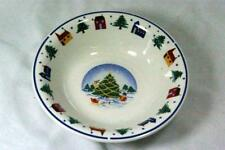 Made In China Christmas Tree With Snowman Deer  Building Trees Soup Bowl