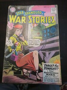 Star Spangled War Stories Silver Age Comic # 86 Oct 1959