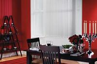 MADE TO MEASURE PLAIN WHITE BLACKOUT VERTICAL BLIND eBAY FACTORY DIRECT SERVICE*