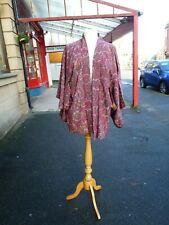 Beautiful Vintage short purple Japanese real genuine Silk Kimono evening jacket