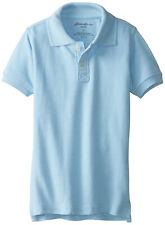 Eddie Bauer Boys School Uniform Short Sleeve Pique Polo Shirt Size 14/16