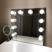 Lvyinyin Vanity Mirror Lights Hollywood Makeup Lighted Desk with Dimmable Circle