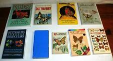 BUTTERFLY/BUTTERFLIES NATURE FIELD GUIDE BOOK LOT: NORTH AMERICA, U.K. & EUROPE
