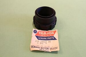 One new Yamaha TR2 TR2B exhaust ring nut (not TZ250 TZ350)  239-14612-00