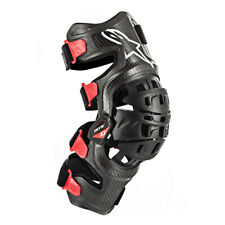 ALPINESTARS BIONIC 10 CARBON KNEE BRACE PAIR MD 482-6267