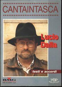 Lucio Dalla Testi Y Acordes Canta Intasca - Cantaintasca Partitura Nuovo