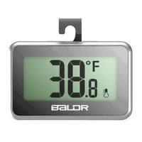 Baldr Digital Refrigerator Freezer LCD Temperature Meter Kitchen Thermometer