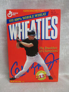 Cal Ripken Jr Baltimore Orioles 2131 Error Wheaties Never Been Open Cereal Box