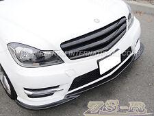 2012-2014 W204 C250 C300 C350 4Dr Carbon Fiber Diffuser & Front Lip & Rear Lip