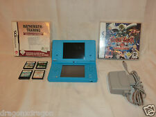 Nintendo DSi Light Blue con 6 juegos (Animal Crossing, New mario bros) garantía