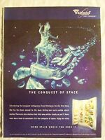 2000 Magazine Advertisement Ad Page For Whirlpool Conquest Refrigerator