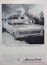 1965 Mercury Comet ORIGINAL Vintage Ad  C MY STORE 4MORE GREAT ADS 5+= FREE SHIP