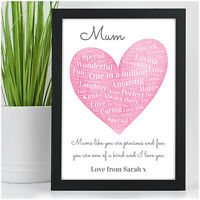 PERSONALISED Christmas Birthday Presents for Mum Xmas Gifts Mummy Nanny Auntie