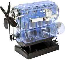 Car Engine Plastic Model Kit Challenging Fun Mechanic Kid Toys Challenging Motor