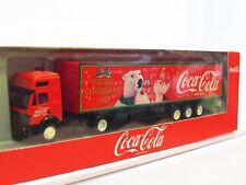 Albédo MB Valise semi-remorque coca cola Merry Christmas 1993 neuf dans sa boîte (tr1363)