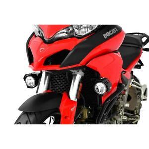 LED Custom Headlights For Fog (Pair) Ducati Multistrada 1200 Yr 2015-1
