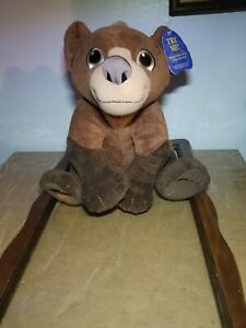 Collect Disney Brother Bear Singing Koda Plush Hasbro 2003 Stuffed Animal *Talks