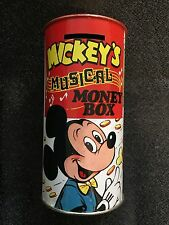VINTAGE COMBEX, MADE IN ENGLAND - MICKEY'S MUSICAL MONEY BOX