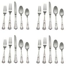 Gorham BLOSSOM / BUTTERCUP  18/10 Stainless Steel 20pc. Flatware Set