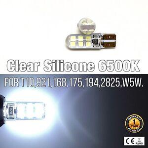 T10 168 194 2825 12961 12 3rd Brake Light 6K White Canbus LED M1 For Chevrolet