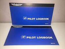 2 each ASA STUDENT PILOT LOG BOOK p/n ASA-SP-10 Pilot's first Log Book