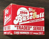 1986 TOPPS TRADED Baseball Factory Set  JACKSON,  BONDS, CANSECO  RC H8220629