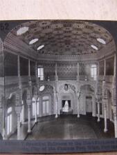 Stereoscope Photograph Ballroom In The Stock Exchange Oporto Portugal