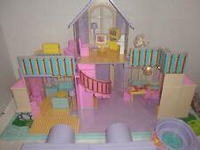 Dollhouse Vintage Blue Box Nicole's Dream House Light Up