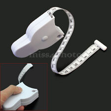 Fitness Body Tape Ruler Measure Sewing Body Fat Caliper Measuring Weight Loss