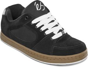 Mens ES Accel OG Skateboarding Shoes NIB Black Gum White