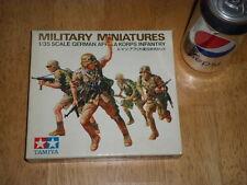 WW#2, GERMAN AFRIKA KORPS INFANTRY - Miniatures, Plastic Model Kit, Scale 1:35