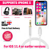 Lightning to 3.5mm Male Jack Car AUX Audio Music Adapter Cable iPhone 6 7 8 X XS