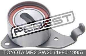 Tensioner Timing Belt For Toyota Mr2 Sw20 (1990-1995)