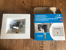 New listing Sharkbite 1/2 in. Push-to-Connect Brass Ice Maker Outlet Box 25032