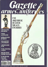 GAZETTE DES ARMES&UNIFORMES N°212 ARQUEBUSE DE LOUIS XIII / PARAS ALLEMANDS