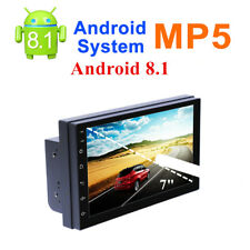 "Android 8.1 7"" 2Din Quad-Core Car Stereo MP5 Player GPS FM Radio WiFi BT 4.0"
