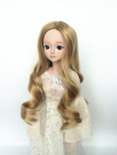 Long Curly Hair Wig Centre Parting FOR BJD Ball-jointed Dolls SD Super Dollfie