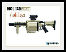 ZY Toys1/6  MGL Multiple Grenade Launcher MGL-140 Desert Tan *NOT LIFE SIZE