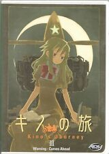 Movie DVD - KINO'S JOURNEY 3 WARNING - CURVES AHEAD - Pre-Owned - ADV Films
