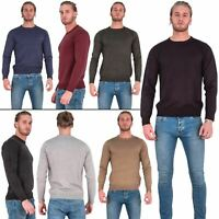 Mens Brave Soul Casual Knitted Pullover Warm Top Sweater Jumper Sweatshirt